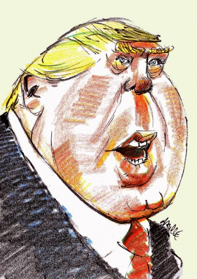 Donald Trump by daulle